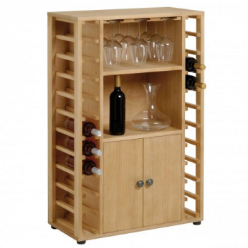 Cantinetta Bar in legno 22 Bottiglie