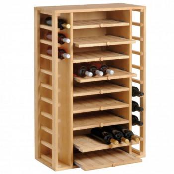Cantinetta Lineare in legno 65 Bottiglie