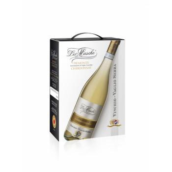 Le Masche Piemonte D.O.C. Chardonnay - 3 Litri