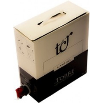 Vino Bianco da uve di cortese – Bag in Box 5 litri - Cantine La Torre