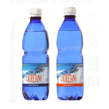 Acqua lauretana da 0,5 litro x 12 bottiglie