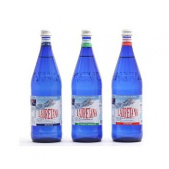 ACQUA LAURETANA - cassa 12 bott. da 1 litro in vetro a rendere