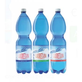 Acqua Lauretana Pet 6 Bottiglie da 1.5 Lt
